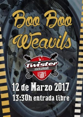 12 marzo 2017 Twister Rock & Food