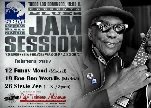 Jam Sociedad Blues Madrid